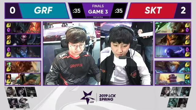 SKT碾压GRF夺得LCK冠军,管泽元四个字形容SKT夺冠!