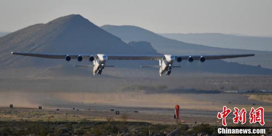 最大飞机完成首飞图片曝光令人惊叹 最大飞机最终目的曝光!