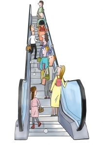 废止扶梯左行右立什么情况 左行右立会加重电梯磨损吗
