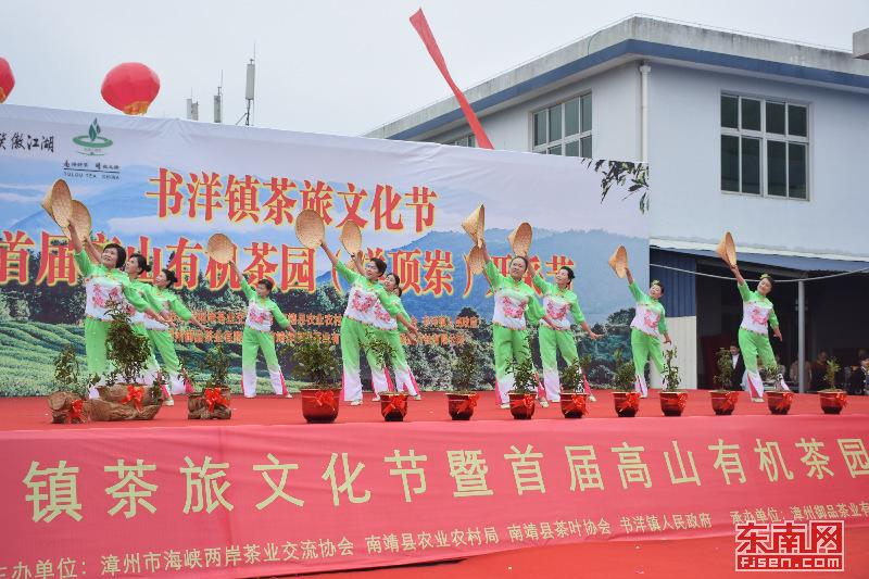 茶旅深度融合!漳州南靖举办首届高山有机茶园开采节