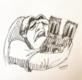 卡西莫多抱着巴黎圣母院哭泣 以示悲伤之情