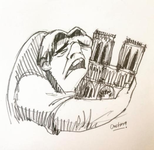 卡西莫多插画(美国有线电视新闻网)