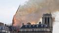 巴黎圣母院大火怎么回事 巴黎圣母院大火前后对比照