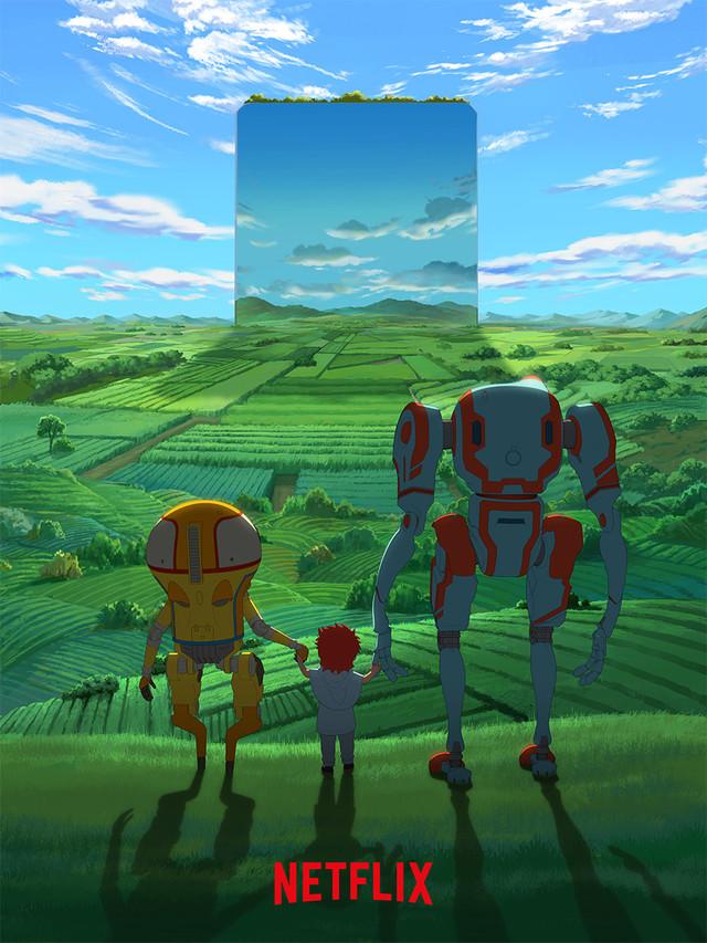钢炼动画导演加盟 Netflix全新原创动画《伊甸》公布