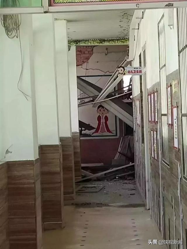 官方说明来了! 咸阳碧桂园楼盘施工 导致附近幼儿园多间教室倒塌