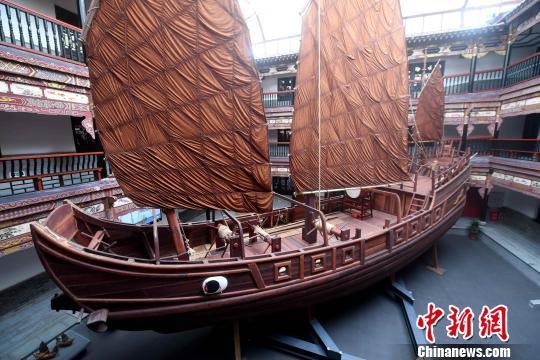 中国海坛海防博物馆再现福建平潭海防历史