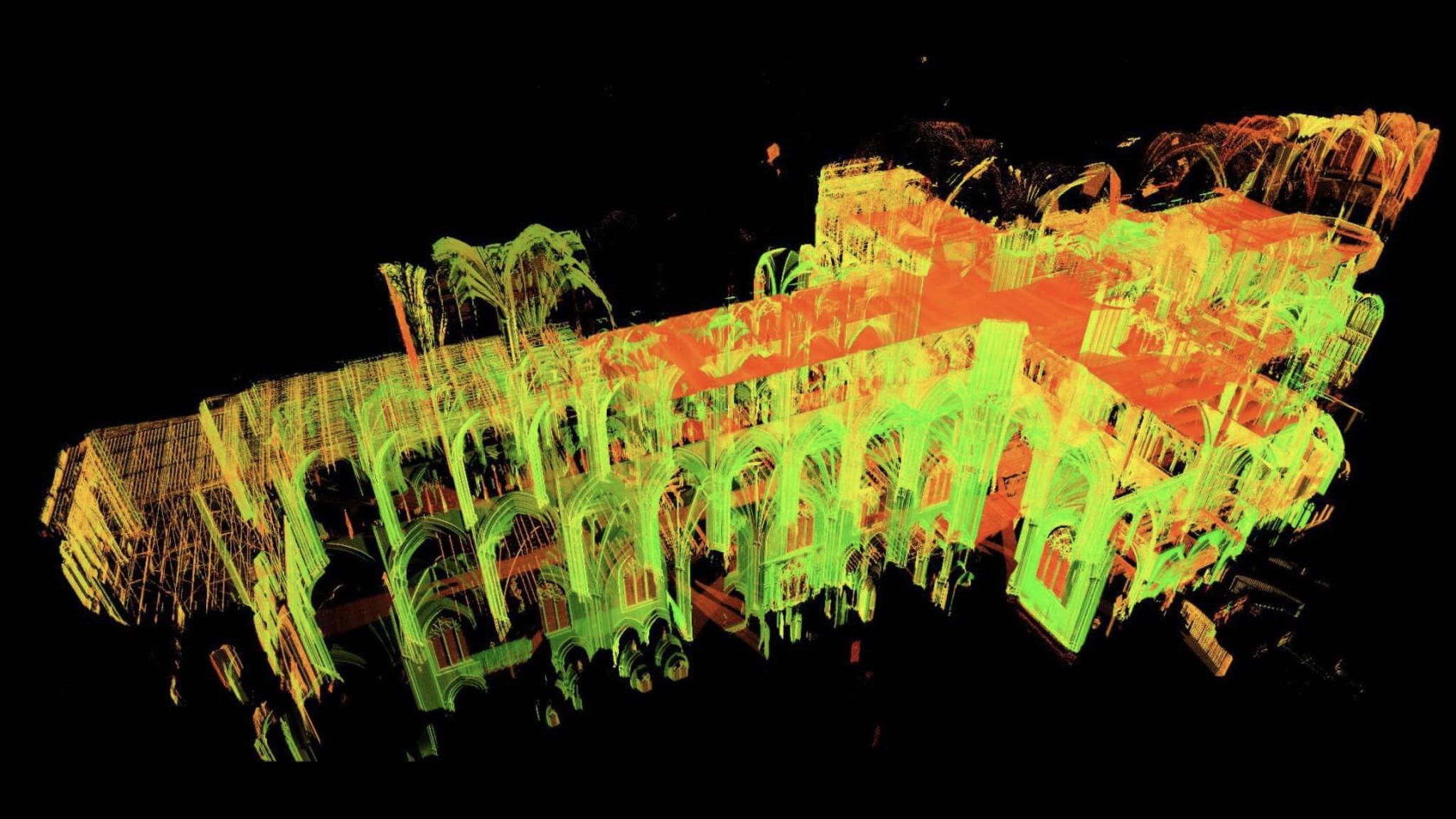 巴黎圣母院激光建模什么情况 巴黎圣母院重建后有什么区别