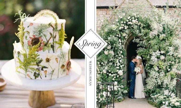 只在春季婚礼上可以任性使用的装饰灵感