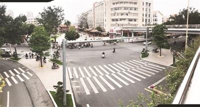 漳州市区安全岛改造 让市民出行更便利