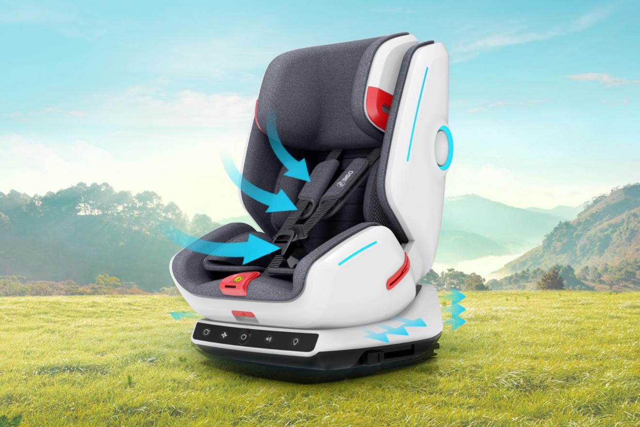 360儿童安全座椅发布:可承受64公里时速碰撞