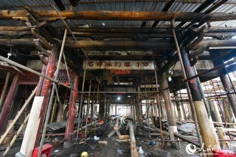 修旧还旧留住文脉 福建连江修缮保护老城区古建筑