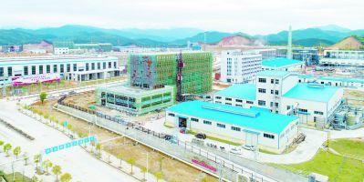 南平竹產業循環經濟園:四大產業實現資源循環利用