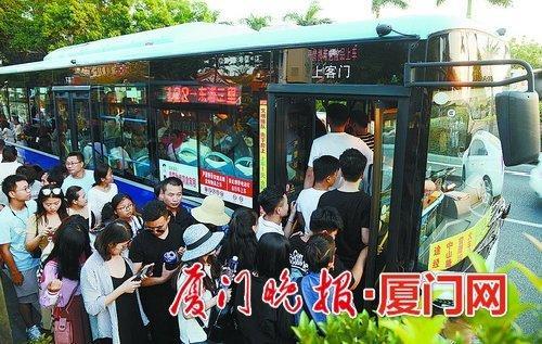 日均客流新增4.4万人次 厦门公交专用道投用优化高峰期运营有成效