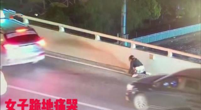 上海17岁男孩跳桥原因令人心痛!17岁男孩跳桥全过程现场视频图片