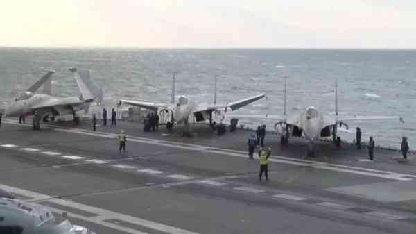震撼!首艘国产航母第五次海试 大量内部画面公开