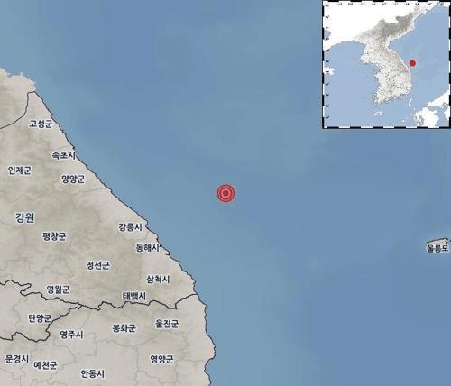 韩国江原道地震具体什么情况 韩江原道近海发生4.3级地震