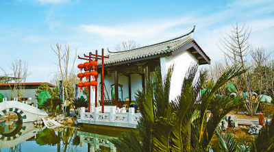 北京世园会福建园:三坊七巷 古韵悠长