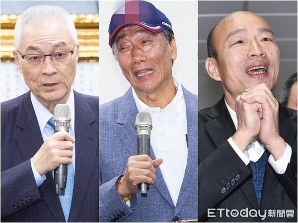 吴敦义改口:若韩国瑜完全没意愿 不会勉强他