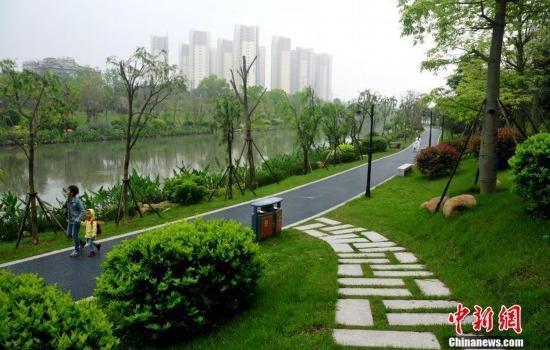 福州流花溪:曾经的垃圾河如今风景如画