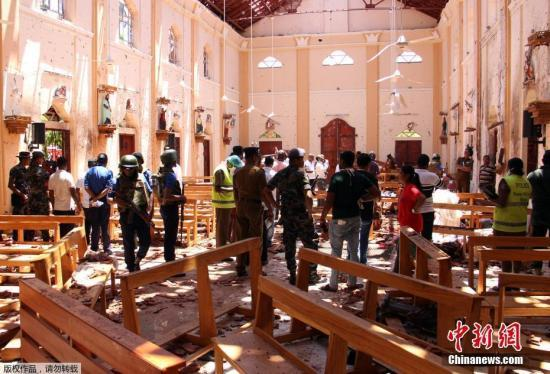 斯里兰卡连环爆炸致重大人员伤亡 全国学校停课两天