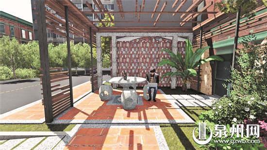 泉州中心市区奎霞巷街心公园将开建 保留闽南韵味 方便群众休闲