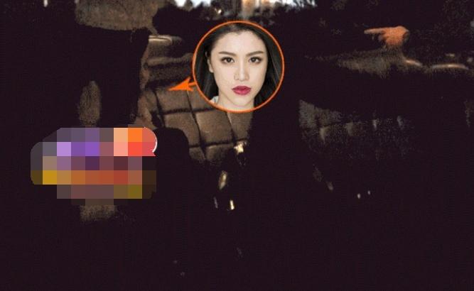 刘翔前妻葛天夜店约会神秘男 葛天黑色低胸装身材完美超吸睛