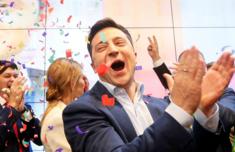 喜剧演员当选总统怎么回事 乌克兰大选泽连斯基获胜