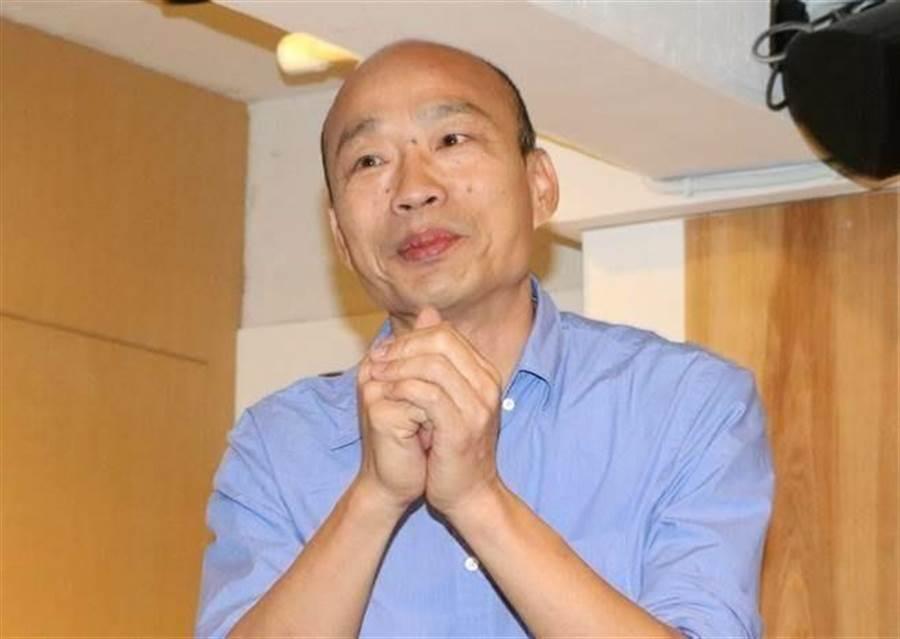 韩国瑜:最快将于23日发声明 回应是否参选2020