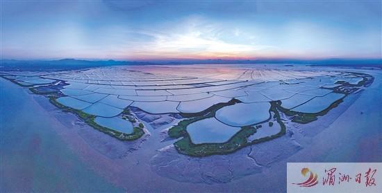 莆田市推进木兰溪入海口及妈祖城海岸带生态修复保护 打造蓝色海湾莆田样本
