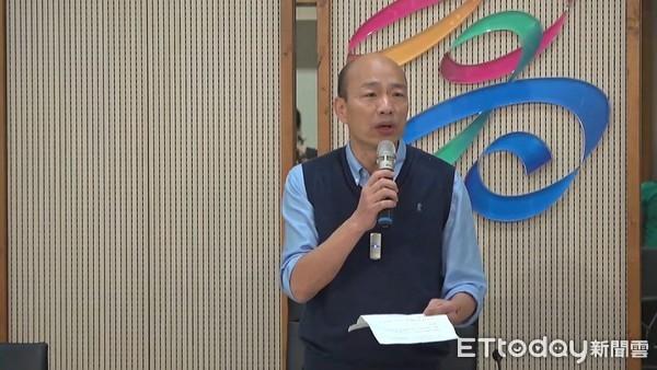 最新韩国瑜民调出炉_韩国瑜声明出炉:没有办法参加现行制度初选