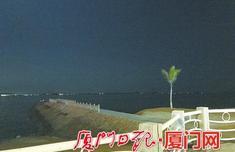 环岛东路入海堤坝护栏多处松动 相关部门表示将进行加固