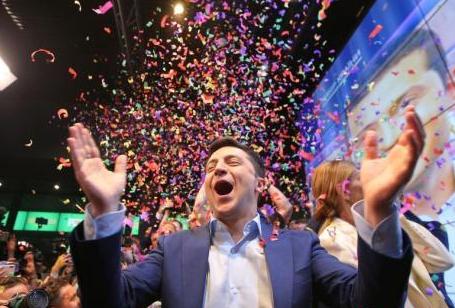 乌克兰:泽林斯基赢得大选胜利 得票73.22%