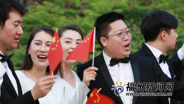 """中央歌剧院合唱团福道""""快闪"""" 点赞福州人的幸福感"""