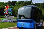 福建福州:智能公園體驗自動駕駛車