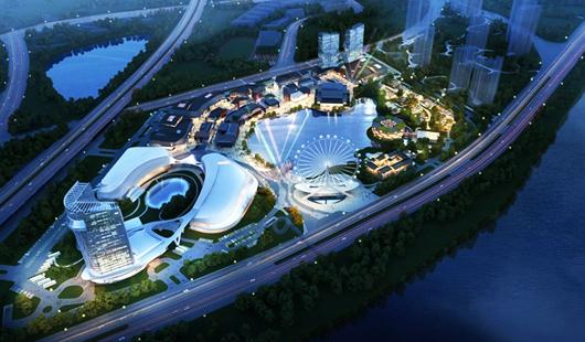 """福州:三江口文化旅游城构筑""""幸福之城"""""""