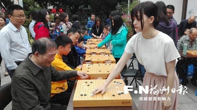 世界顶尖高手天珠|世界顶尖高手与福州棋手现场对弈