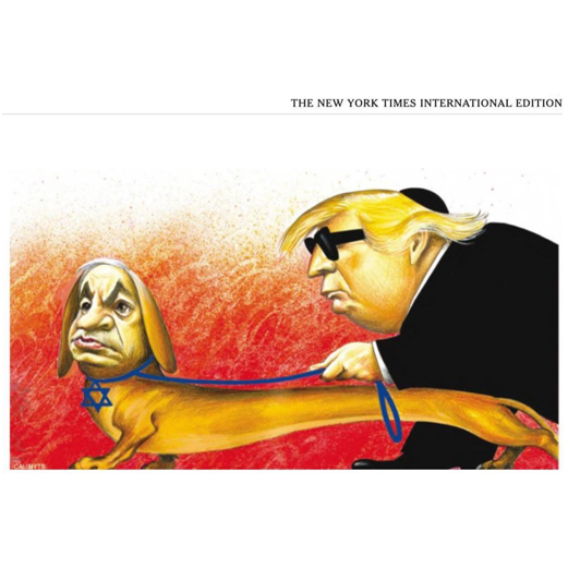 纽约时报道歉 视频|纽约时报道歉怎么回事 纽约时报为何因为一幅漫画道歉