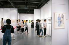 纪念五四运动100周年 福建青年书画家作品展开幕
