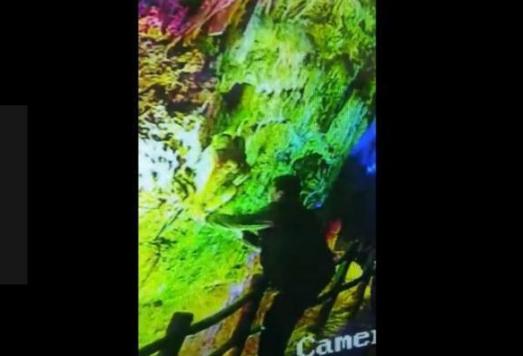 掰断偷走百万年钟乳石游客落网详细新闻介绍?游客损坏百万年钟乳石过程