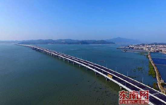 漳州市首座跨海大桥_漳江湾跨海特大桥进入试通车阶段