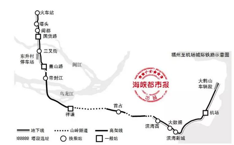 30分钟!福州市区到长乐铁路直达,设14站