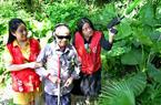 福州:陪视障者感受鸟语花香