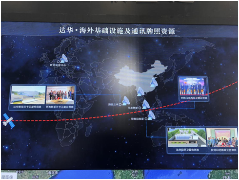 达华的海外基础设施及通讯拍照资源
