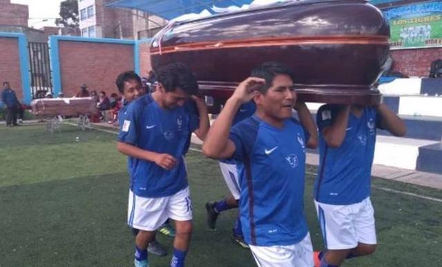 殯儀館舉辦足球賽怎么回事 獎品是一座價值1300美元棺材