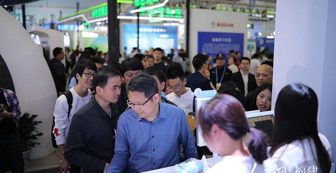 新技术新产品 第二届数字中国建设成果展人气爆棚