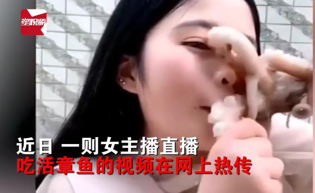 女主播遭章魚毀容詳細新聞介紹?女主播遭章魚毀容視頻曝光
