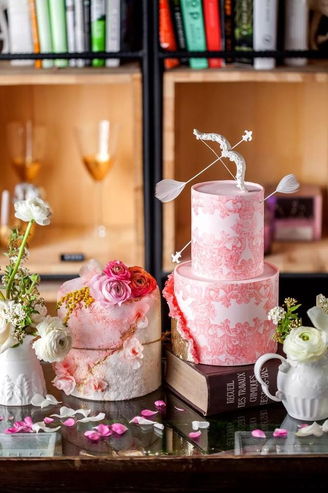 """將情書""""寫""""進婚禮蛋糕 是最美味的情話"""