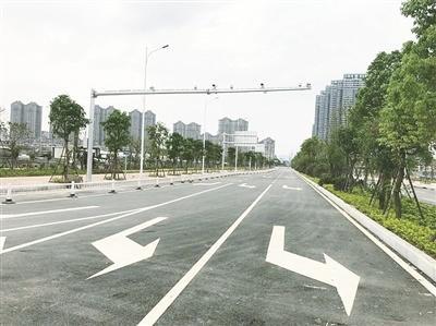 漳州龙文区龙腾南路完工 直抵江滨