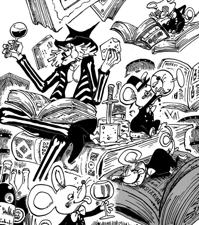 海贼王漫画942话鼠绘汉化分析:老康重启计划 Smile果实秘密曝光