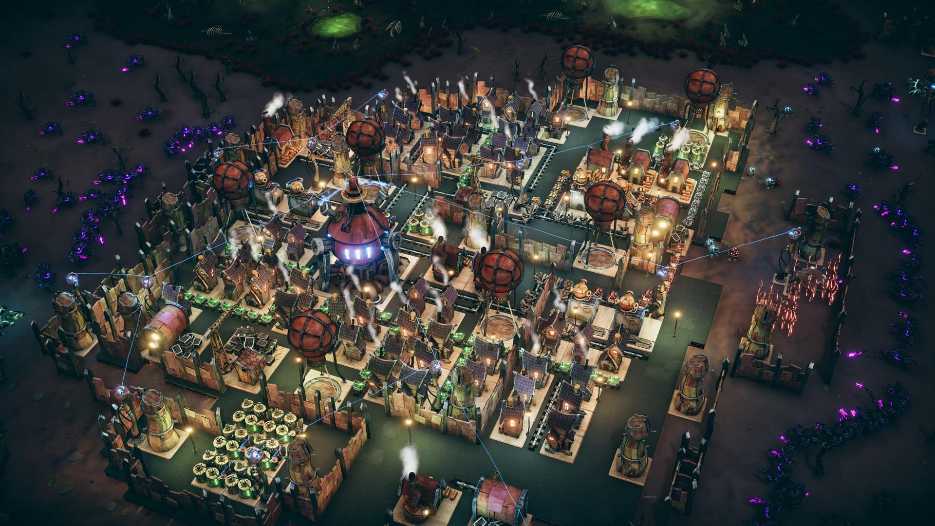 策略新作《夢幻引擎:移動城市》 科幻版天空之城